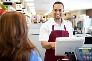 Retail Cashier Photo