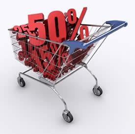 Shopping Cart Discount Photo